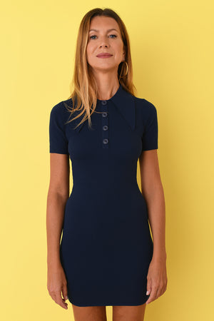 Hello Sailor Polo Mini Dress