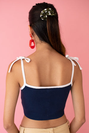 JoosTricot Hello Sailor Crop Camisole