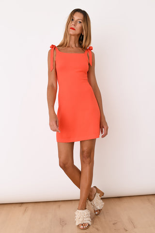 JoosTricot Red Viscose Camisole Dress