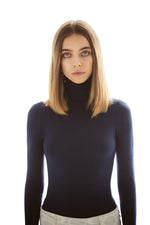 JoosTricot Solid Hello Sailor Peachskin Turtleneck