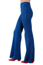 Azur Lurex Flared Pants
