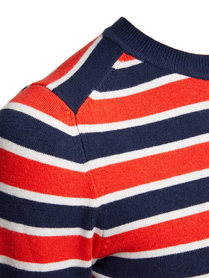 joostricot-red-white-marine-stripe-peachskin-crewneck-sweater-close-up