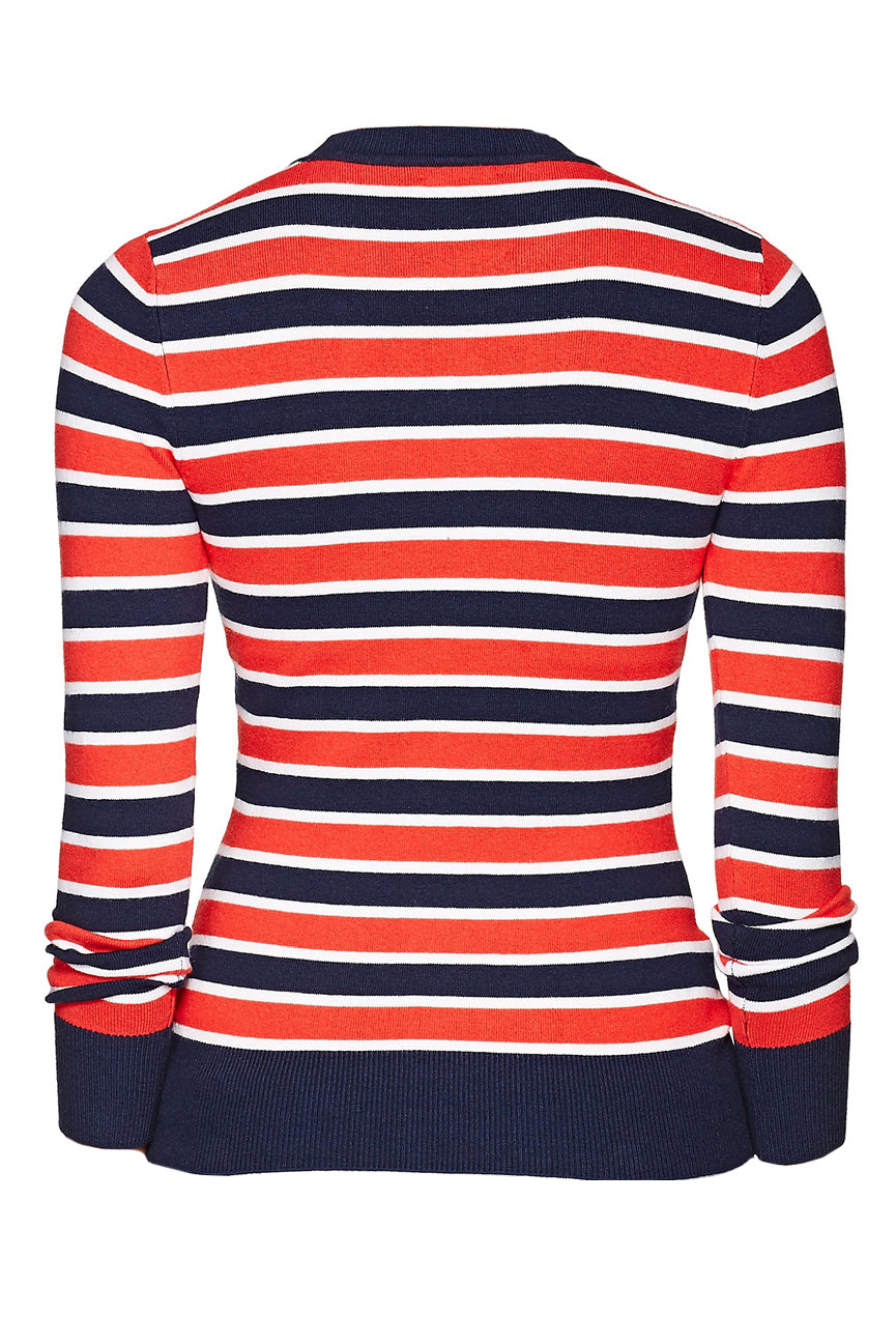 joostricot-red-white-marine-stripe-peachskin-crewneck-sweater