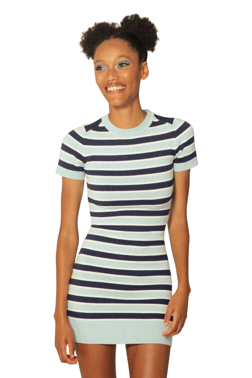 JoosTricot Summer Stripe Mini Dress
