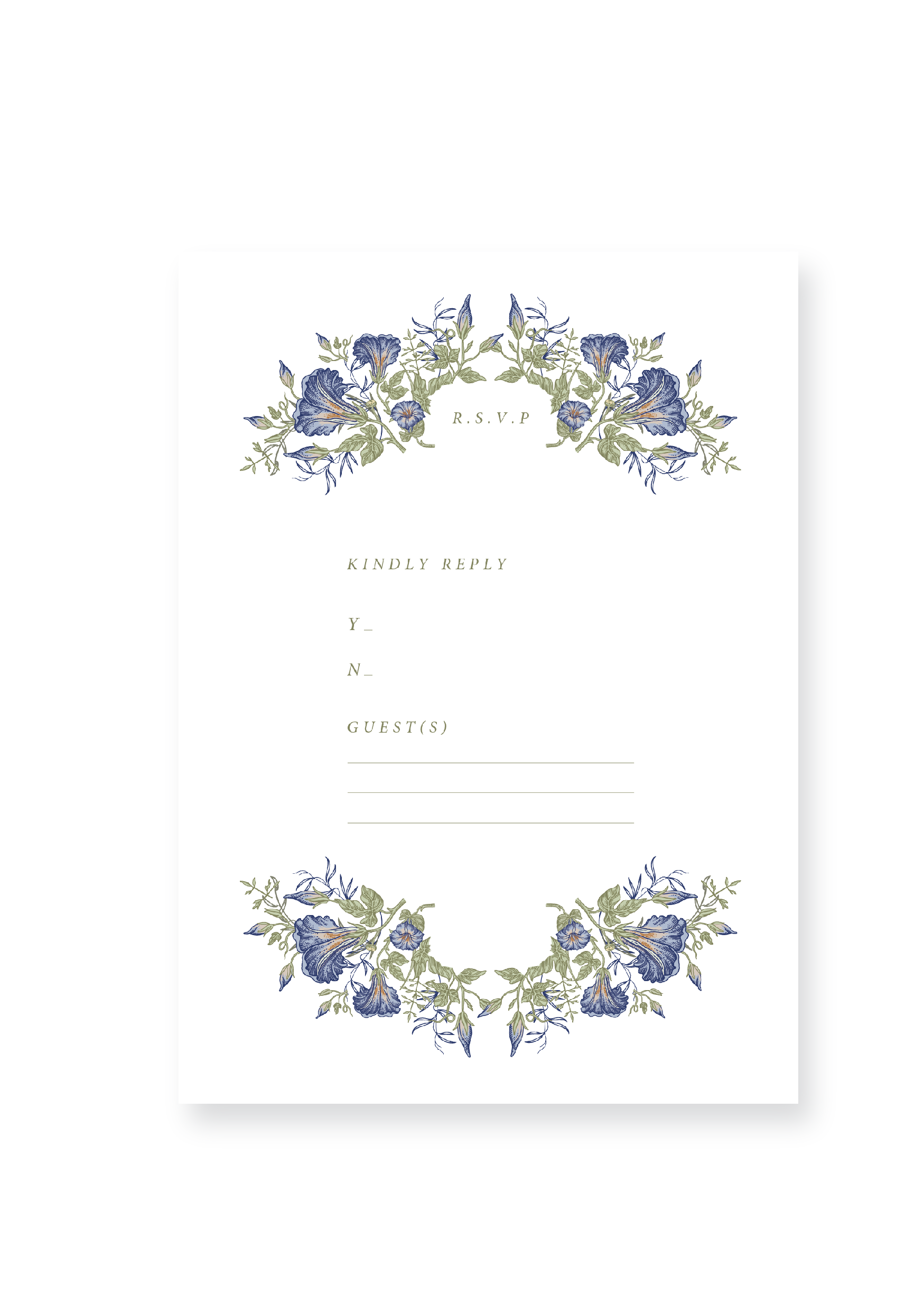 The Tapestry Collection - Wedding Invitation