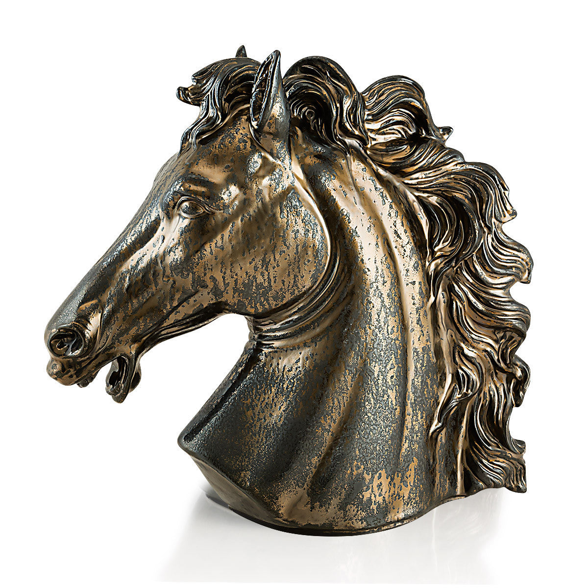 TESTA DI CAVALLO IN CERAMICA MADE IN ITALY