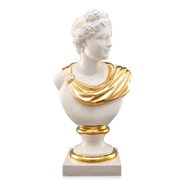 Busto Apollo in ceramica