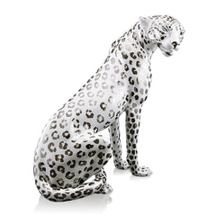leopardo in ceramica