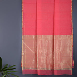 Chanderi Handloom Saree with Blouse in Silk Cotton 92