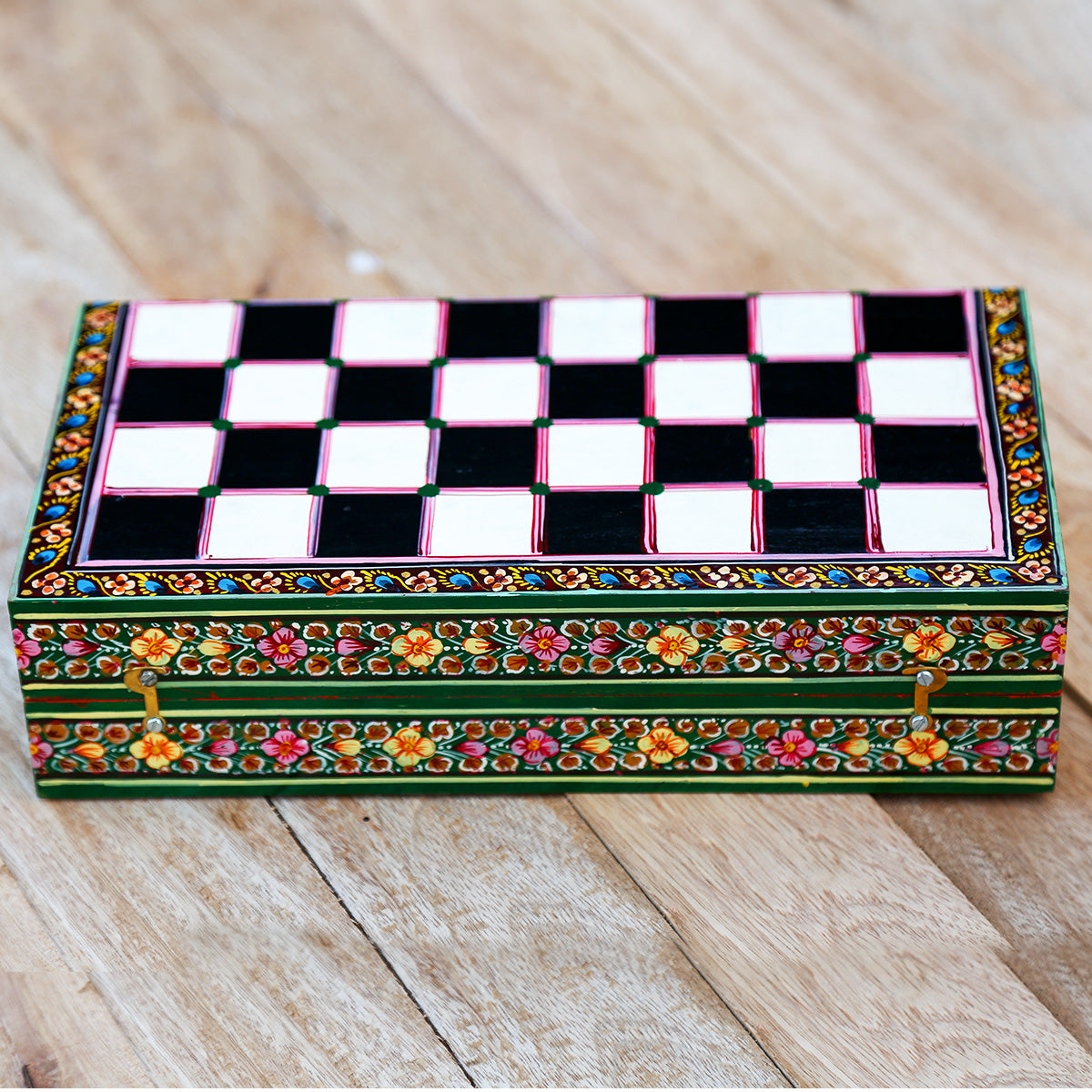 Handcrafted Wooden Chess Board from Sawantwadi