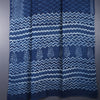 Dabu Hand Block Printed Indigo Cotton Saree with Blouse 37