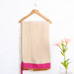 Phulia Handloom Saree with Blouse in Linen 3