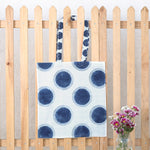 Hand Block Printed Naturally Dyed Organic Cotton Bag 4