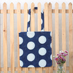 Hand Block Printed Naturally Dyed Organic Cotton Bag 6