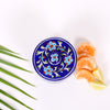 Blue Cotton Box of Jaipur Blue Pottery with Flower design 2