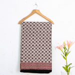 Bagh Hand Block Printed Naturally Dyed Cotton Saree with Blouse 1