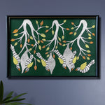 Birds Gond Painting by Japani Shyam