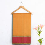 Chanderi Handloom Saree with Blouse in Silk Cotton 36