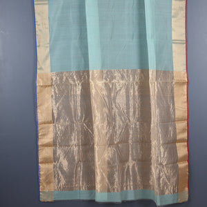 Chanderi Handloom Saree with Blouse in Silk Cotton 38