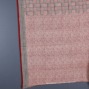 Bagh Hand Block Printed Naturally Dyed Cotton Saree with Blouse 8