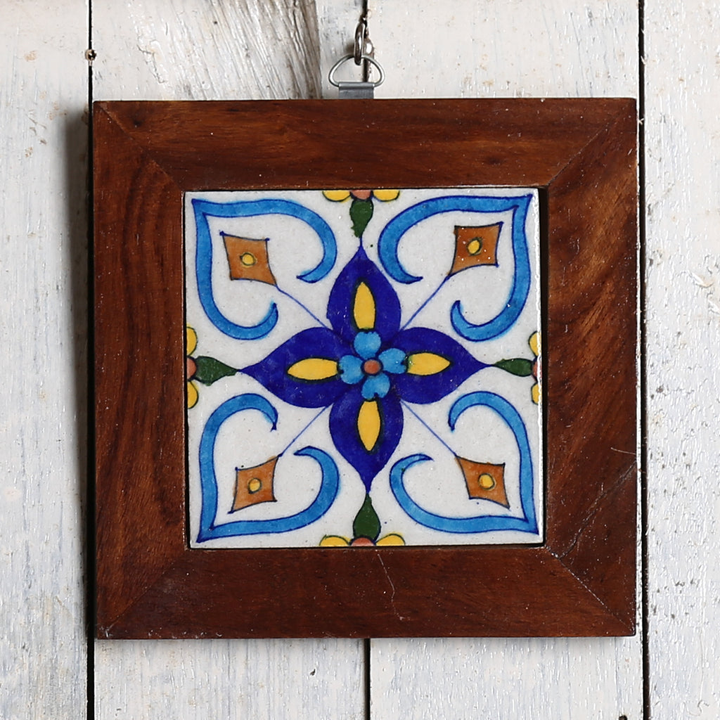 Jaipur Blue Pottery Wall Hanging 1