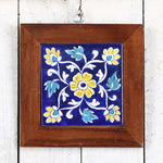 Jaipur Blue Pottery Wall Hanging 3