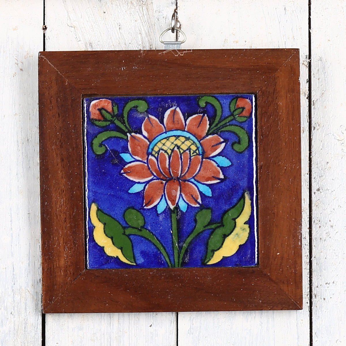 Jaipur Blue Pottery Wall Hanging 4