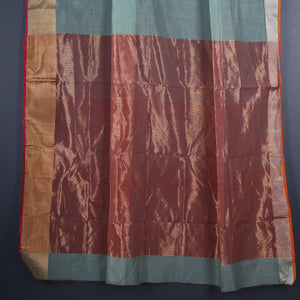 Chanderi Handloom Saree with Blouse in Silk Cotton 25