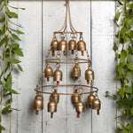 Kutch Metal Bell Wind Chimes - 16 Bell Jhoomar Design