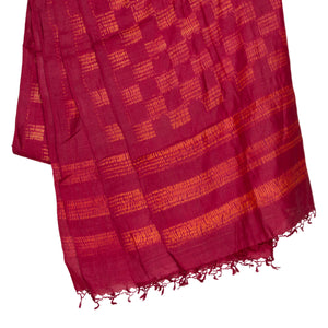 Kutch Tie & Dye Dupatta in Tussar Silk with Shibori technique 1