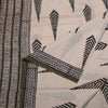 Bagru Hand Block Printed Naturally Dyed Cotton Saree 2