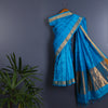 Kanjeevaram Handloom Cotton Silk Saree with Blouse 9
