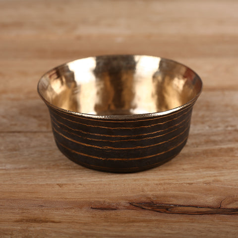 Curry Bowl in Kansa Kaam - Bell Metal Utensil