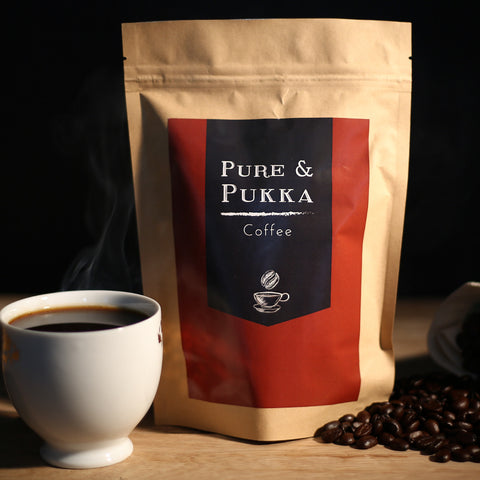 South Indian Pure Filter Coffee with Chicory Mix from Coorg