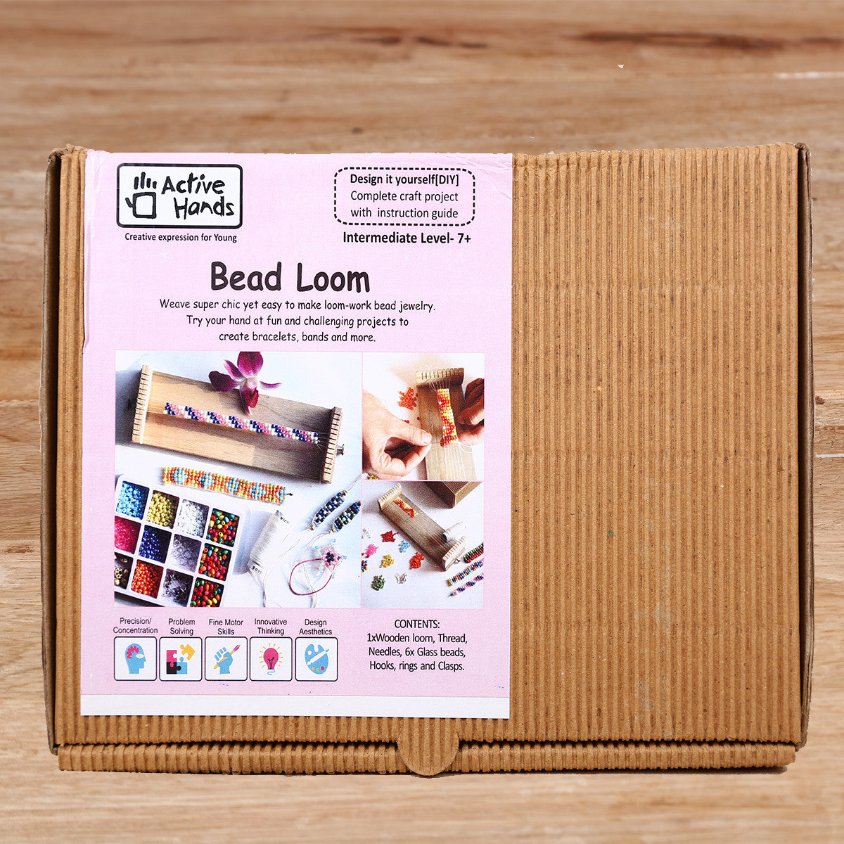 Active Hands Bead Loom Do It Yourself Kit