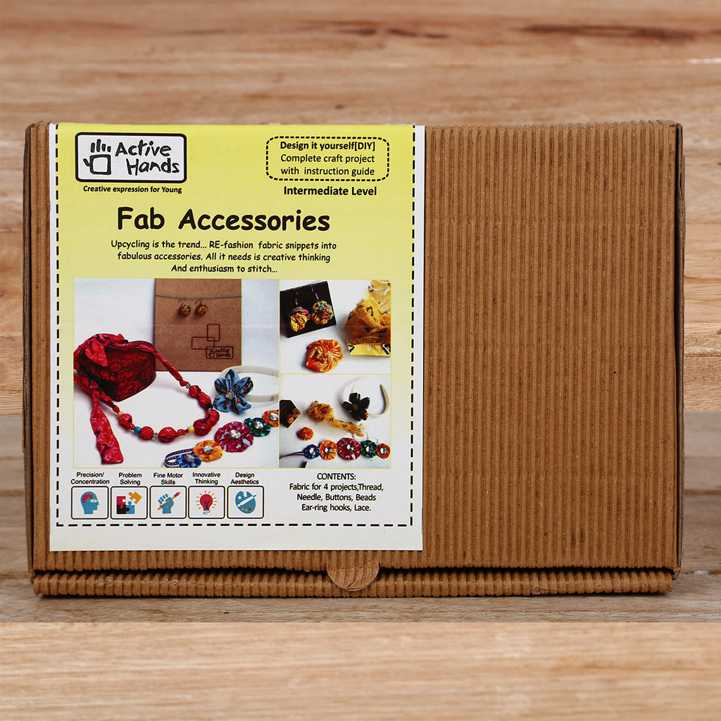 Active Hands Fab Accessories Do It Yourself Kit