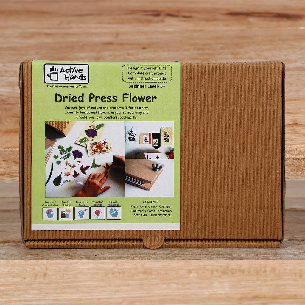 Active Hands Dried Press Flower Do It Yourself Kit