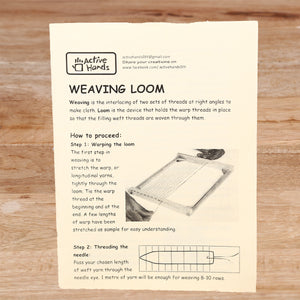 Active Hands Weaving Loom Do It Yourself Kit