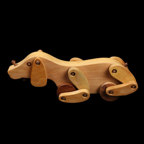 Handcrafted Wooden Toys from Saharanpur - Dog