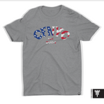 American Flag CBGB T-Shirt (Women's/Fitted Cut)