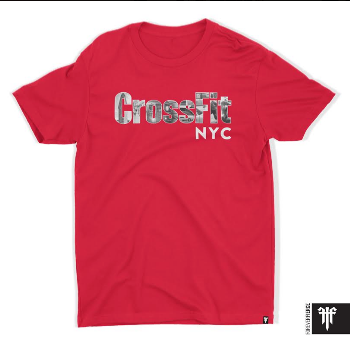 Red NYC T-Shirt (Men's/Relaxed Cut)