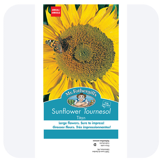 Sunflower 'Titan' Seeds