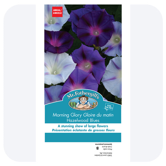 Morning Glory 'Hazelwood Blue' Seeds