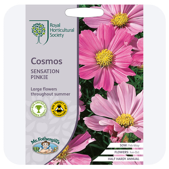 Cosmos 'Sensation Pinkie' Seeds