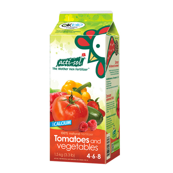 Actisol Tomatoes and Vegetables Organic Fertilizer 4-6-8