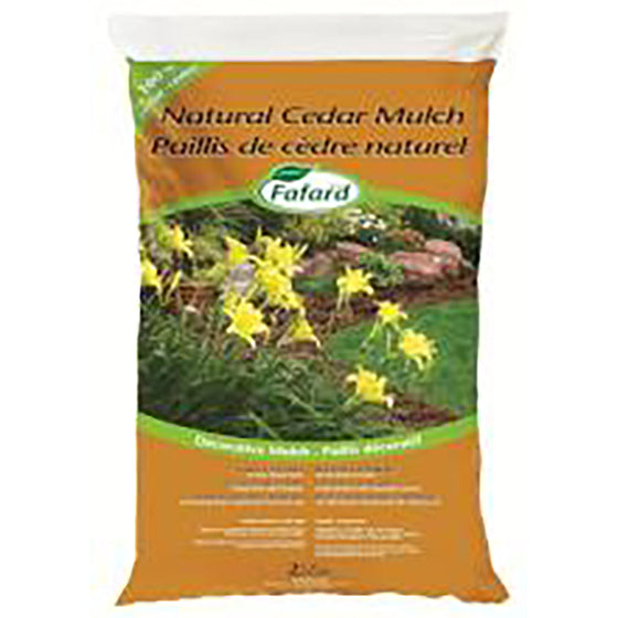 Fafard Natural Cedar Mulch