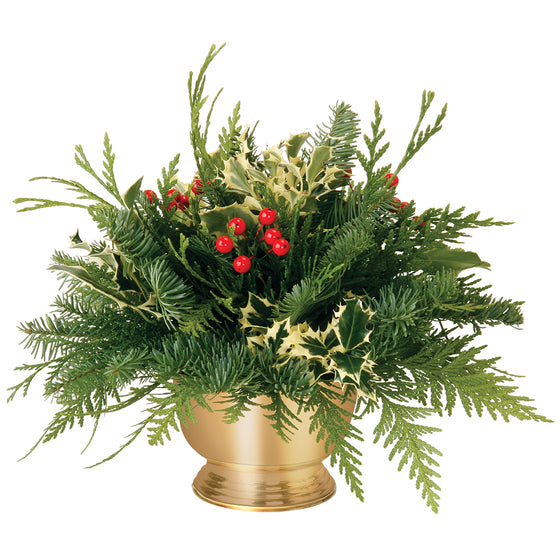 Holly Centrepiece