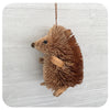 Textured Brown Hedgehog