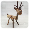Birch Reindeer Ornaments