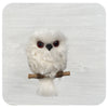 Hanging Owl with Metallic Specks